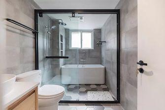 富裕型120平米三室两厅日式风格卫生间设计图
