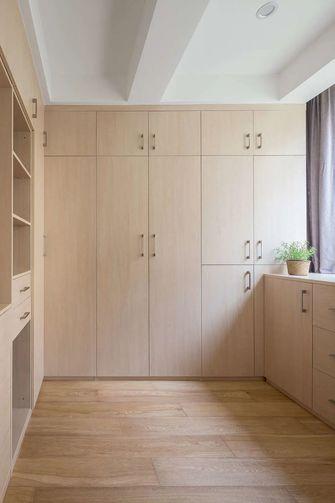 富裕型110平米三室两厅日式风格衣帽间装修案例