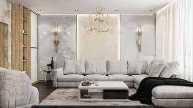 富裕型欧式风格客厅装修图片大全