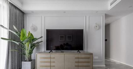 经济型110平米三室一厅美式风格客厅装修案例