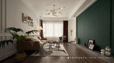 富裕型120平米四新古典风格客厅图片大全