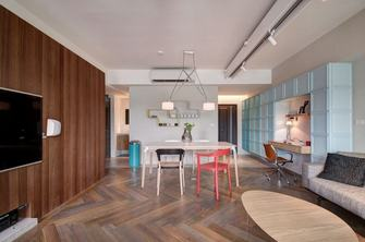 经济型80平米公寓混搭风格客厅图