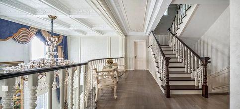 豪华型140平米别墅法式风格楼梯间图片