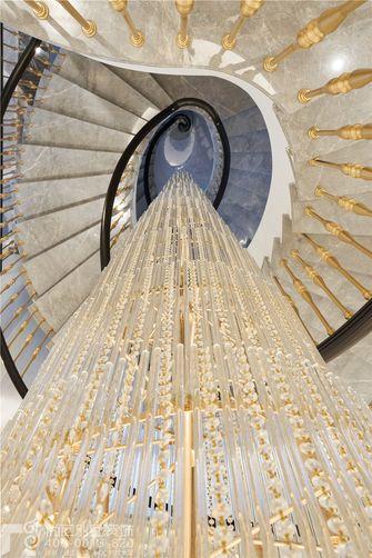 豪华型140平米别墅美式风格楼梯间装修效果图