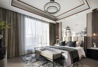 豪华型140平米四室一厅轻奢风格卧室图片大全
