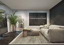 豪华型140平米别墅混搭风格卧室装修案例