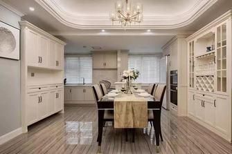140平米四室一厅轻奢风格餐厅装修案例