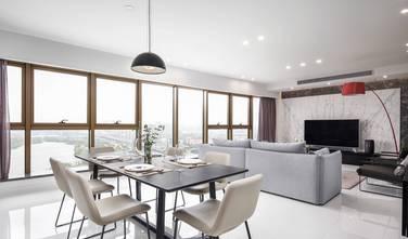 富裕型90平米北欧风格客厅设计图