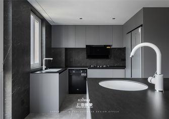 富裕型130平米三室两厅现代简约风格厨房装修案例