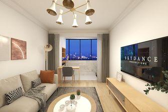 50平米一室两厅日式风格客厅欣赏图