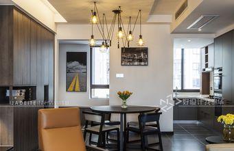 130平米三室两厅混搭风格厨房欣赏图