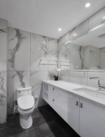 经济型80平米三室一厅美式风格卫生间装修图片大全
