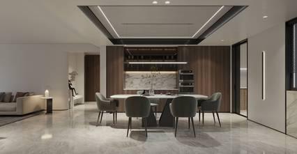 90平米公寓现代简约风格客厅图片