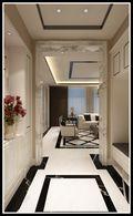 140平米三新古典风格玄关装修图片大全