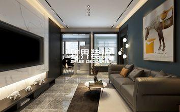 40平米小户型轻奢风格客厅图片