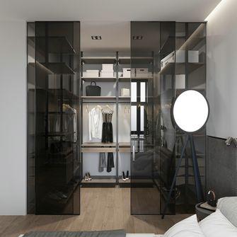 140平米三室两厅现代简约风格衣帽间装修案例