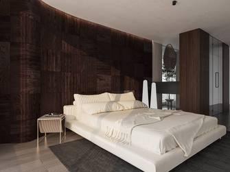 140平米三室两厅英伦风格卧室装修案例