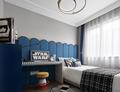 豪华型120平米三港式风格青少年房图
