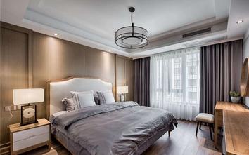 80平米公寓中式风格卧室装修效果图