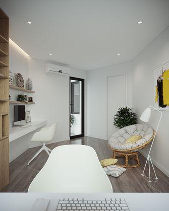 10-15万70平米三室两厅北欧风格书房装修案例