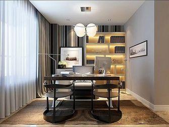 140平米三室一厅新古典风格书房装修效果图