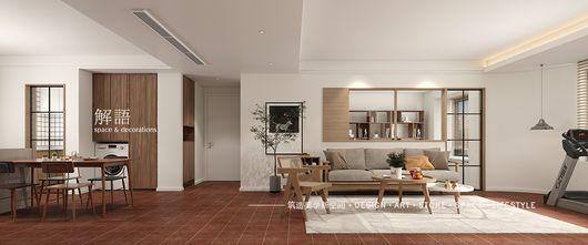 20万以上140平米三日式风格客厅装修效果图