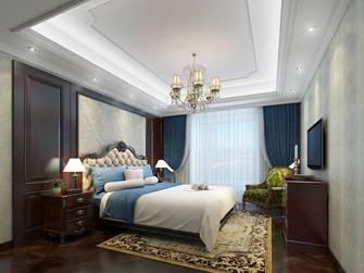 豪华型140平米三室两厅美式风格卧室图片