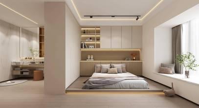 20万以上140平米四室两厅现代简约风格卧室装修效果图