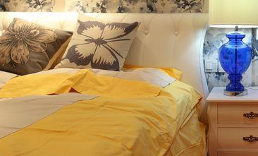 60平米一居室美式风格客厅效果图