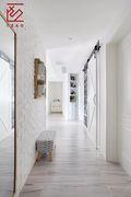 富裕型90平米三室两厅北欧风格走廊效果图