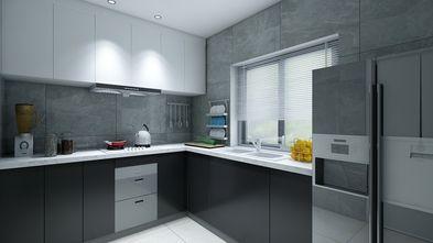 富裕型140平米三室两厅工业风风格厨房效果图