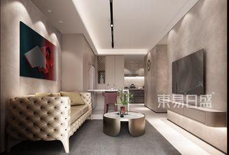 15-20万60平米混搭风格客厅装修图片大全