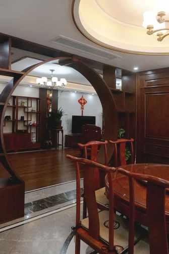 110平米中式风格餐厅图