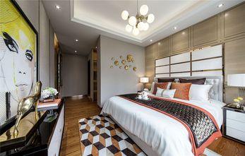 富裕型110平米三室一厅轻奢风格卧室效果图