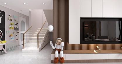 120平米三现代简约风格走廊设计图