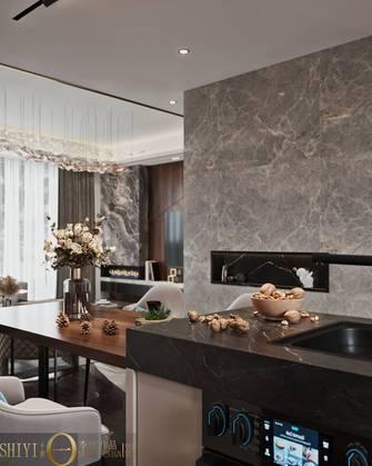 豪华型140平米别墅轻奢风格餐厅设计图