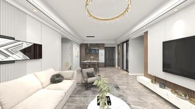 经济型120平米四室两厅现代简约风格客厅装修图片大全