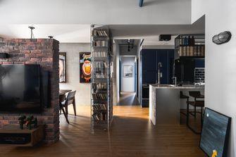 经济型100平米三室一厅工业风风格客厅设计图