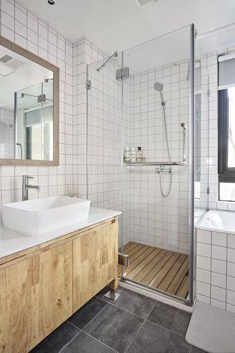 豪华型130平米三室一厅日式风格卫生间装修效果图