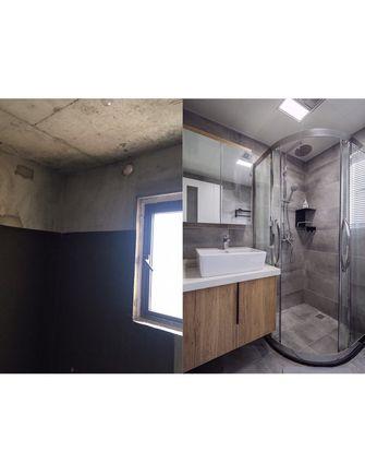 90平米三室一厅北欧风格卫生间设计图