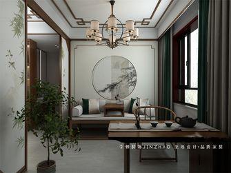 富裕型130平米四室两厅中式风格书房图片大全