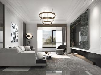 20万以上120平米三室一厅英伦风格客厅装修图片大全