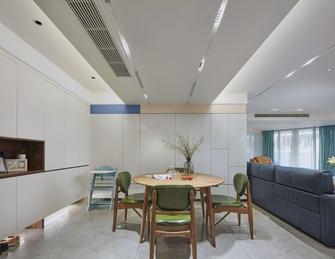 富裕型110平米四室两厅现代简约风格餐厅欣赏图