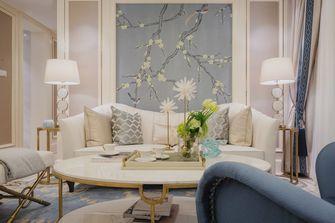 富裕型100平米法式风格客厅欣赏图