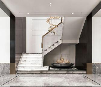 140平米复式中式风格楼梯间欣赏图