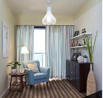 90平米三室三厅混搭风格书房欣赏图