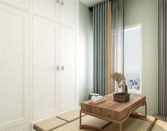 90平米三室一厅美式风格书房图
