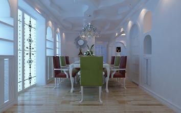 富裕型140平米三室两厅地中海风格餐厅效果图