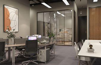 经济型140平米三室一厅公装风格客厅欣赏图
