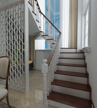 经济型140平米别墅美式风格楼梯间欣赏图